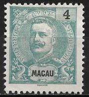 Macao Macau – 1898 King Carlos 4 Avos - Macao