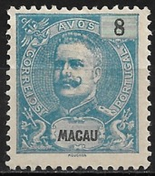 Macao Macau – 1898 King Carlos 8 Avos - Macao