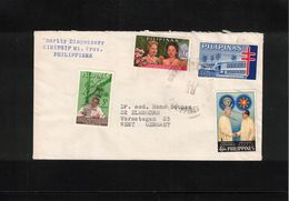 Philippines Interesting Airmail  Letter - Filippijnen