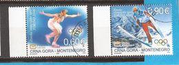2006 112-13   MONTENEGRO  CRNA GORA  SPORT OLYMPIADI WINTERSPIELE  TORINO USED - Winter 2006: Torino