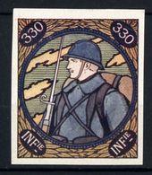 WW1- DELANDRE -  330e Rgt D'Infanterie  - ND - Vignette NEUVE ( Sans Traces De Charnières ) - NMNH - Vignettes Militaires
