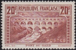 France   .   Yvert   .    262  (2 Scans) . Rouille      .   *     .   Neuf Avec  Charnière    .    /    .    Mint-hinged - Nuevos