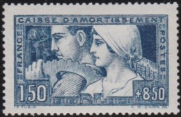 France   .   Yvert   .    252  (2 Scans)         .   *     .   Neuf Avec  Charnière    .    /    .    Mint-hinged - Unused Stamps