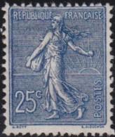 France   .   Yvert   .    132      .      (*)        .   Pas De Gomme      .    /    .    No Gum - Nuevos