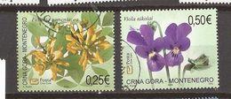 2006 114-15  MONTENEGRO  CRNA GORA FLORA FIORI  USED - Montenegro