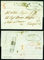 Ionian Islands. 1837 Cover Of Zante. Disinfected. - Ionian Islands
