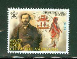 Verdi + Aida; Vatican; Scott # 1183; Usagé  (9176) - Vatican