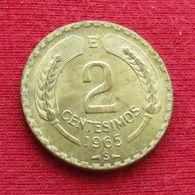 Chile 2 Centesimos 1965 KM# 193 Chili - Chili