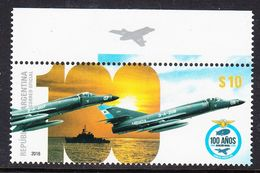 2016 Argentina Naval Aviation Military Ships Navy Complete Set Of 1 MNH - Argentina