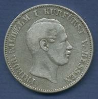 Hessen-Kassel Vereinstaler 1858, Friedrich Wilhelm I., J 48 A Fast Ss (m2611) - Taler Et Doppeltaler