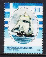 2016 Argentina Navy Ships Independence  Complete Set Of 1 MNH - Ungebraucht