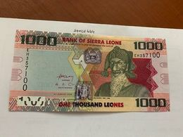 Sierra Leone 1000 Leones Uncirc. Banknote 2013 #2 - Sierra Leone