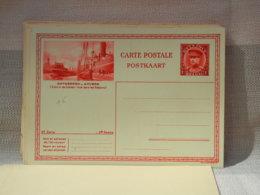BELGIQUE - ENTIER POSTAL 1fr ALBERT I CARTE ILLUSTREE ANTWERPEN ZICHT IN DE DOKKEN - NEUF - Tarjetas Ilustradas