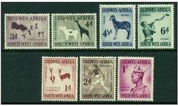 -South West Africa- 1954 - Definitives (*) - Afrique Du Sud-Ouest (1923-1990)