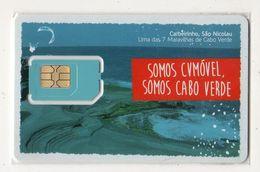 CAP VERT CARTE GSM CVMOVEL - Kaapverdische Eilanden