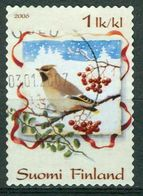 Bm Finland 2006 MiNr 1826 Used | Christmas, Waxwing - Finland