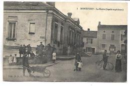 MONTFORT - La Mairie (façade Supérieure) - Montfort En Chalosse