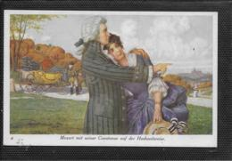 AK 0515  Mozart Mit Seiner Constanze Auf Der Hochzeitsreise - Künstlerkarte Um 1920 - Chanteurs & Musiciens
