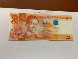 Philippines 20 Pisu Uncirc. Banknote 2017 - Philippines