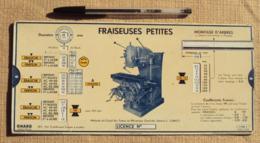 Sciences & Technique 006, Regle A Calcul Omaro C-MGU.3 Abaque, Mécanique Fraiseuses Petites - Wissenschaft & Technik