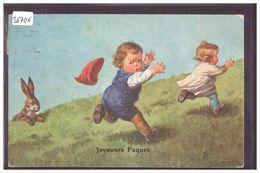 JOYEUSES PAQUES - ENFANTS - LAPIN - PAR FIALKOWSKA - TB - Fialkowska, Wally
