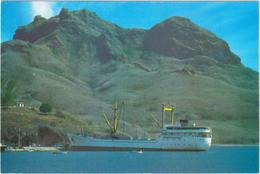 Bâteau Aranui - Baie De Taihoae - Archipel Des Marquises - & Boat - Polynésie Française