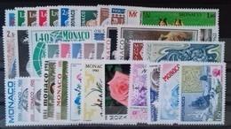 MONACO ANNEE COMPLETE 1981 COTE 112 € NEUFS ** MNH N°1264 à 1305 Soit 42 Timbres. TB - Monaco