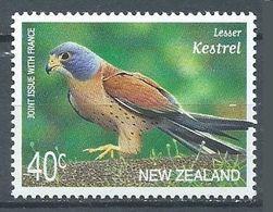 Nouvelle-Zélande YT N°1793 Faucon Crécerellette (Emission Commune France-Nouvelle-Zélande) Neuf ** - Emissions Communes