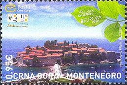 2012 Visit Montenegro, Sveti Stefan, Montenegro, MNH - Montenegro