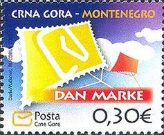 2012 Stamp Day, Montenegro, MNH - Montenegro