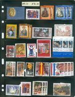 Vatican; Timbres En Vrac; Usagés; Plus De $90.00 Valeur Catalogue  (9181) - Vatican