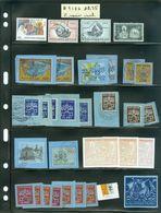 Vatican; Timbres + Vignettes + Coins D'aérogramme, En Vrac; (9186) - Vatican