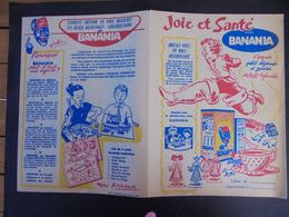 PROTEGE CAHIER - BANANIA : JOIE ET SANTE - Carte Assorbenti