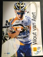 Wout Van Aert - Telenet Fidea - 2011 - Card / Carte - Cyclists - Cyclisme - Ciclismo -wielrennen - Wielrennen
