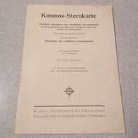 Old Brochure KOSMOS - STERNKARTE DES NOERDLICHEN STERNHIMMELS Germany '60s  RR - 1. Frühgeschichte & Altertum