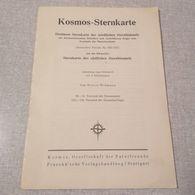 Old Brochure KOSMOS - STERNKARTE DES NOERDLICHEN STERNHIMMELS Germany '60s  RR - 1. Antigüedad
