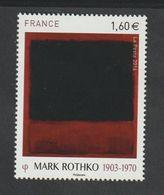 TIMBRE - 2016  -   N° 5030 -   Série Artistique ,Personnalité ,Mark Rothko   -   Neuf Sans Charnière - France