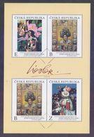 CZECH REPUBLIC 2020 - Paintings By Josef Liesler, Miniature Sheet MNH (Specimen) - Blocks & Sheetlets