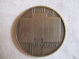 Suisse: 1871 - 1971 Les Verrières - Passage Des Bourbakis - Suisse