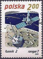 Poland 1979 - Mi 2661 - YT 2480 ( Satellites Lunik II And Ranger 7 ) - 1944-.... République