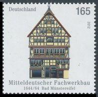 2012Germany2970Frame Houses In Germany: Bad Münstereifel - Unused Stamps