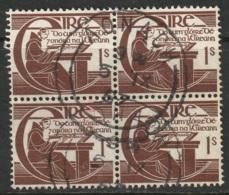 Ireland Sc 129 Block Used - 1937-1949 Éire