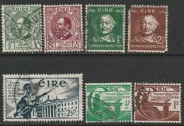 Ireland Sc 120,124-129 Used - 1937-1949 Éire