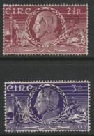 Ireland Sc 135-136 Set Used - 1937-1949 Éire