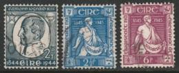 Ireland Sc 130-132 Used - 1937-1949 Éire