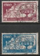 Ireland Sc 99-100 Set Used - 1937-1949 Éire