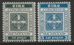 Ireland Sc 85-86 Set MLH - 1922-37 Stato Libero D'Irlanda