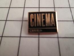 115d Pin's Pins / Rare & Belle Qualité !!! THEME CINEMA / CANAL + - Cinéma