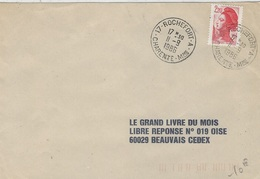 1986 - Env. Affr. 2,20 F Oblit. Cad 17-ROCHEFORT-A / CHARENTE-Mme - Storia Postale