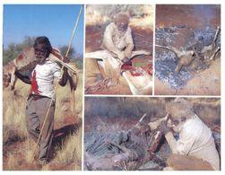 (A 16) Australia - Traditional Kangaroo Hunting & Cooking - Aborigenes